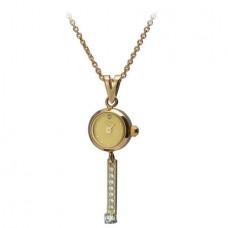 "Золотые часы-кулон ""Софи"" 44650-5.401"