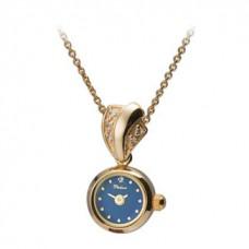 "Золотые часы-кулон ""Софи"" 44650-6.601"