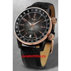 Часы Восток Европа 2426/5603061 ГАЗ-14 Лимузин (Vostok Europe GAZ-14 Limuzin) DUAL TIME Line