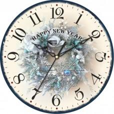 """Настенные часы """"260.2"""" диаметр 260 мм"""