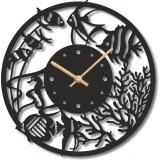 "Настенные часы ""Аквариум 2"" диаметр 470 мм"