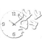 "Настенные часы ""Голуби 1"" диаметр 320 мм"