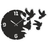 "Настенные часы ""Голуби 2"" диаметр 320 мм"