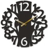 """Настенные часы """"Лесные 2"""" диаметр 470 мм"""