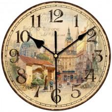"""Настенные часы """"195.6"""" диаметр 195 мм"""
