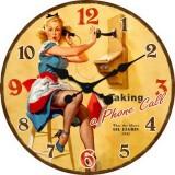 """Настенные часы """"Бетти"""" диаметр 320 мм"""