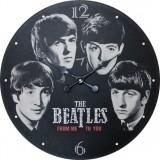 "Настенные часы ""Битлз"" диаметр 470 мм"