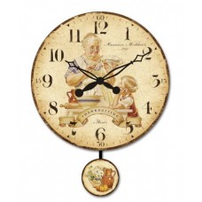 """Настенные часы """"Благодарение"""" диаметр 320 мм"""