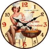 """Настенные часы """"Джил"""" диаметр 470 мм"""
