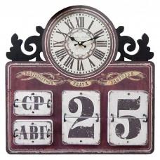 "Настенные часы ""Календарь 4"""