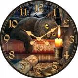 "Настенные часы ""Кот 1"" диаметр 320 мм"