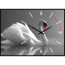 "Настенные часы ""Лебедь"""