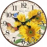 """Настенные часы """"Лето"""" диаметр 320 мм"""