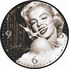 """Настенные часы """"Монро"""" диаметр 320 мм"""