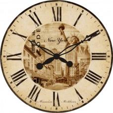 """Настенные часы """"Нью-Йорк"""" диаметр 470 мм"""
