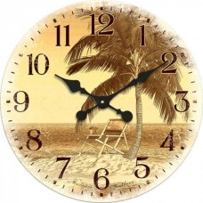 """Настенные часы """"Пальма"""" диаметр 470 мм"""