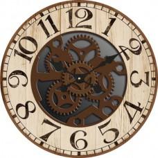 """Настенные часы """"Скелетон"""" диаметр 470 мм"""