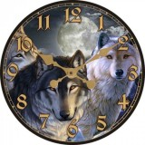 "Настенные часы ""Сумерки"" диаметр 320 мм"