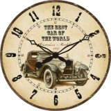 "Настенные часы ""Вояж"" диаметр 320 мм"