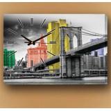 Настенные часы Мост