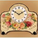 Настольные часы  Букет