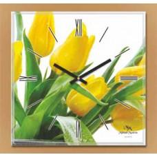 Настенные часы со стеклом