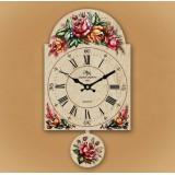 """Настенные часы """"Цветы"""""""