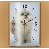 Настенные часы Котенок